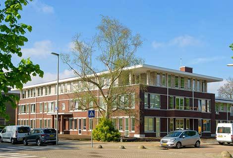 Martha Flora, het verpleeghuis in Rotterdam