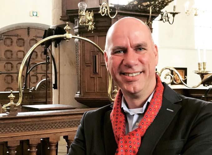 Predikant Lennart Heuvelman